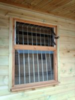 Standard Window with 2 Louvered Blades