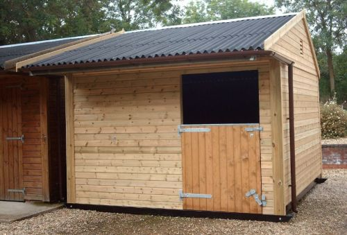 The Warwick Buildings Saver Stable Range, great design, great materials, simply done