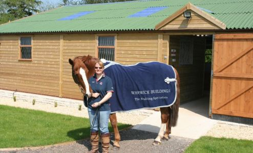 Warwick Buildings supply just what you need to make time spent with horses even more enjoyable, and at an affordable price